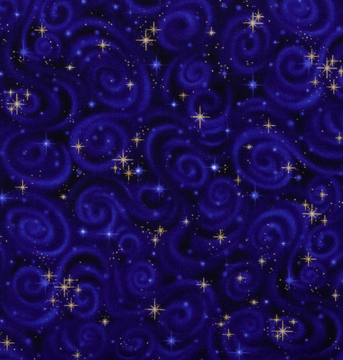 Dark Purple with stars